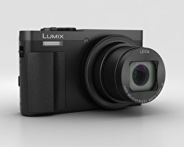 Panasonic Lumix DMC-TZ70 Black 3D model