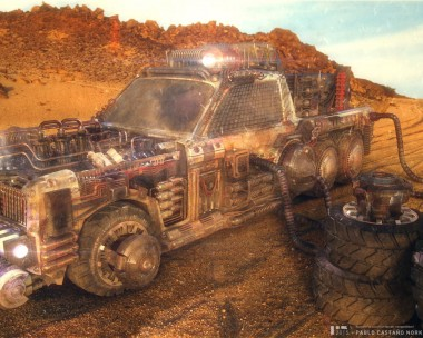Desert-Dust Vehicle