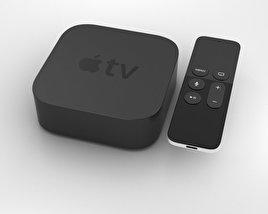 Apple TV (2015) 3D model