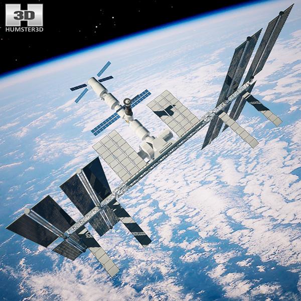 3d model international space station - photo #40