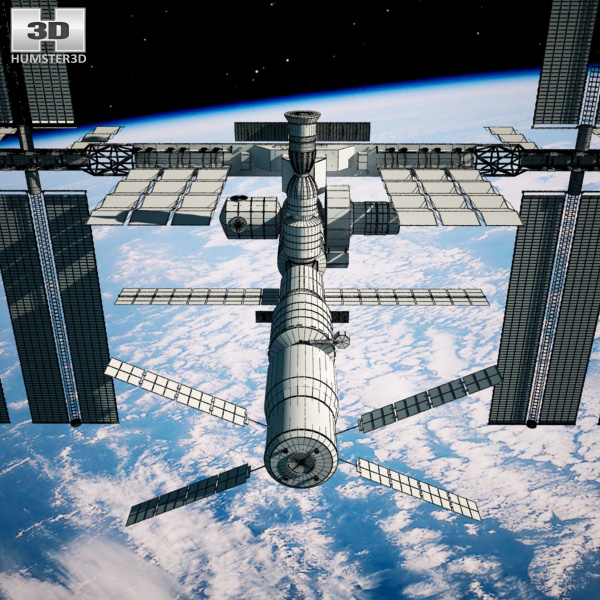 3d model international space station - photo #8