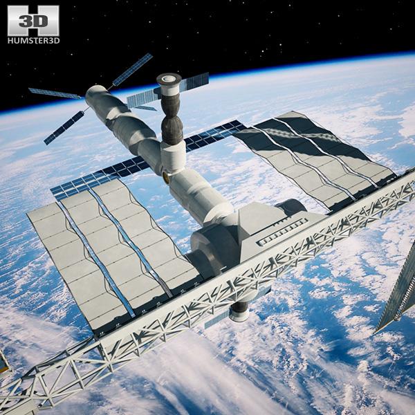 3d model international space station - photo #41