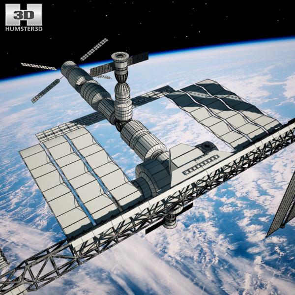 3d model international space station - photo #36