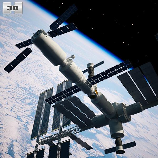 3d model international space station - photo #3