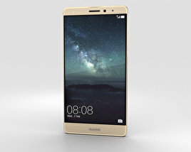 Huawei Mate S Luxurious Gold 3D model