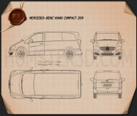 Mercedes-Benz Viano Compact Blueprint