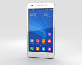 Huawei Honor 4 Play White 3D model