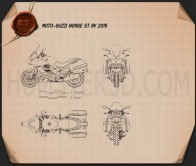 Moto-Guzzi Norge GT 8V 2015 Blueprint