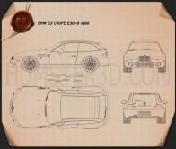 BMW Z3 coupe (E36/8) 1999 Blueprint