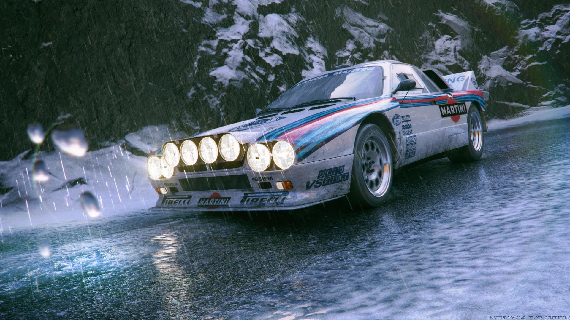Lancia 037 3d art