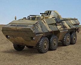 OT-64 SKOT 3D model