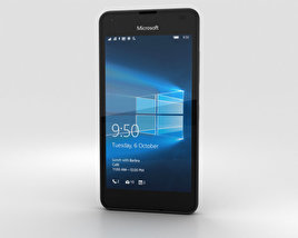 Microsoft Lumia 550 Black 3D model