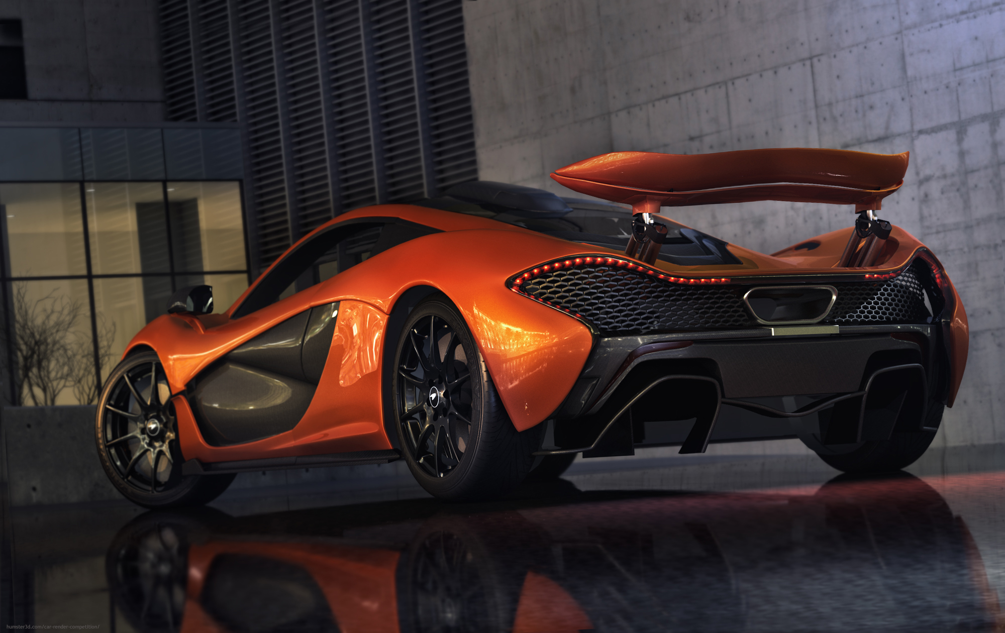 P1 Night Garage