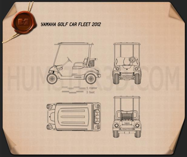 Yamaha Golf Car Fleet 2012 Blueprint