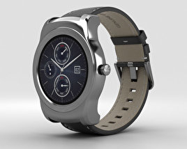 LG Watch Urbane Silver 3D model