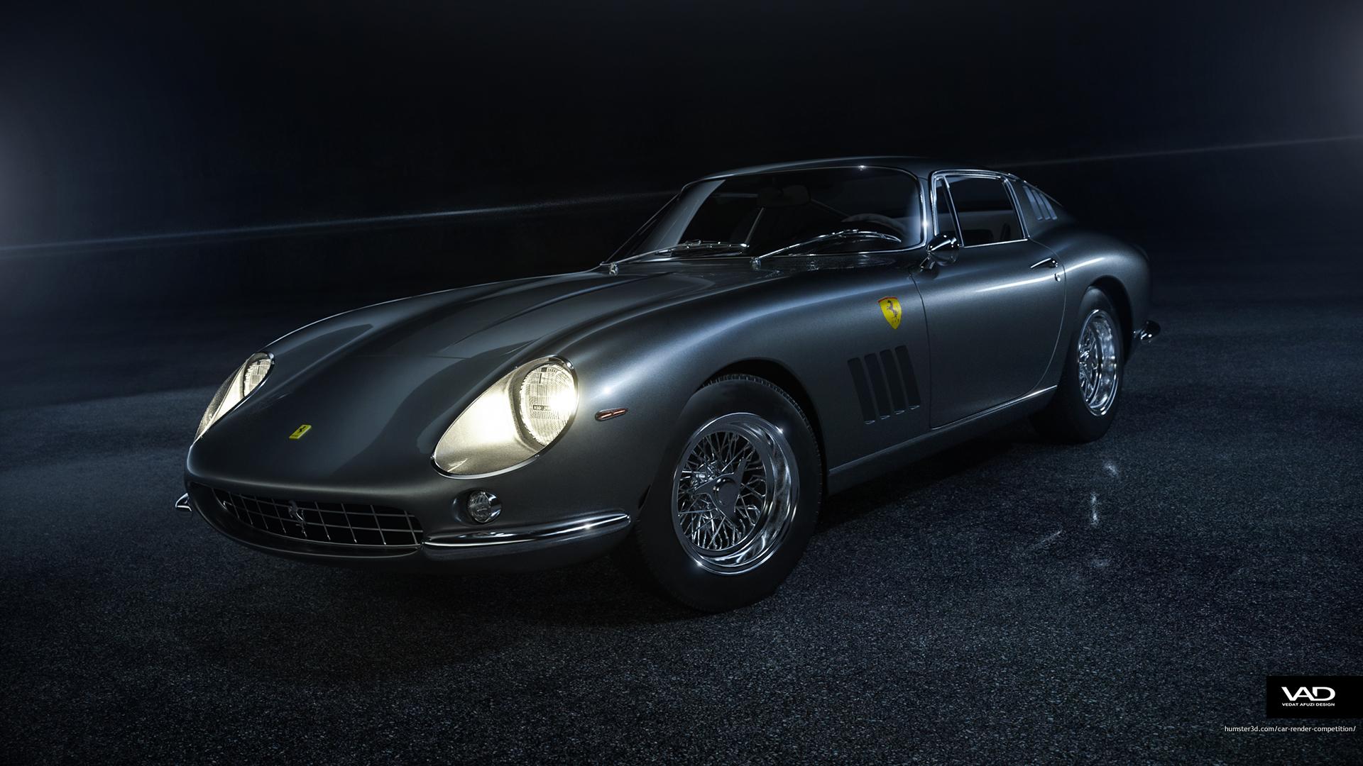 Ferrari 275 GTB 3d art
