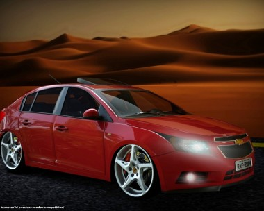 Chevrolet Cruze Hatch in the desert