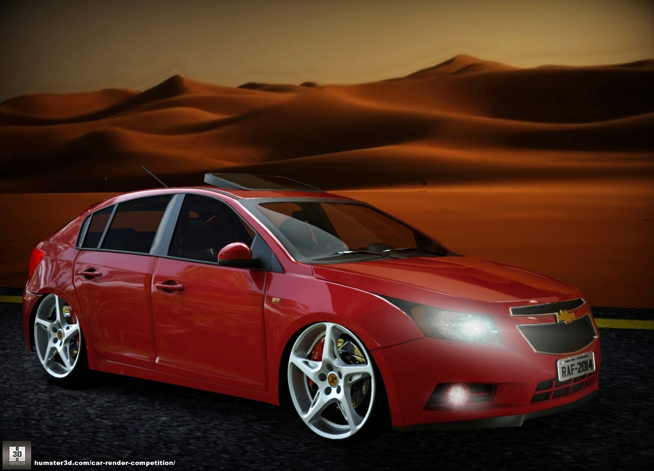 Chevrolet Cruze Hatch in the desert