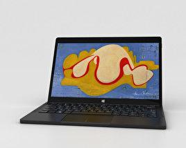 Dell XPS 12 2-in-1 Laptop 3D model