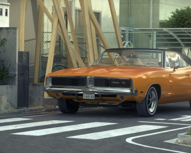 Dodge Charger 1969 RT in Japan