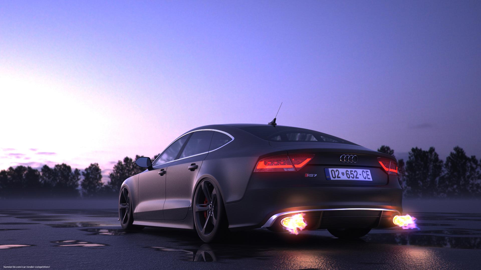 Audi Rs7 3d Artist Armend Pajaziti Hum3d
