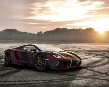 The Bull, Lamborghini Aventador