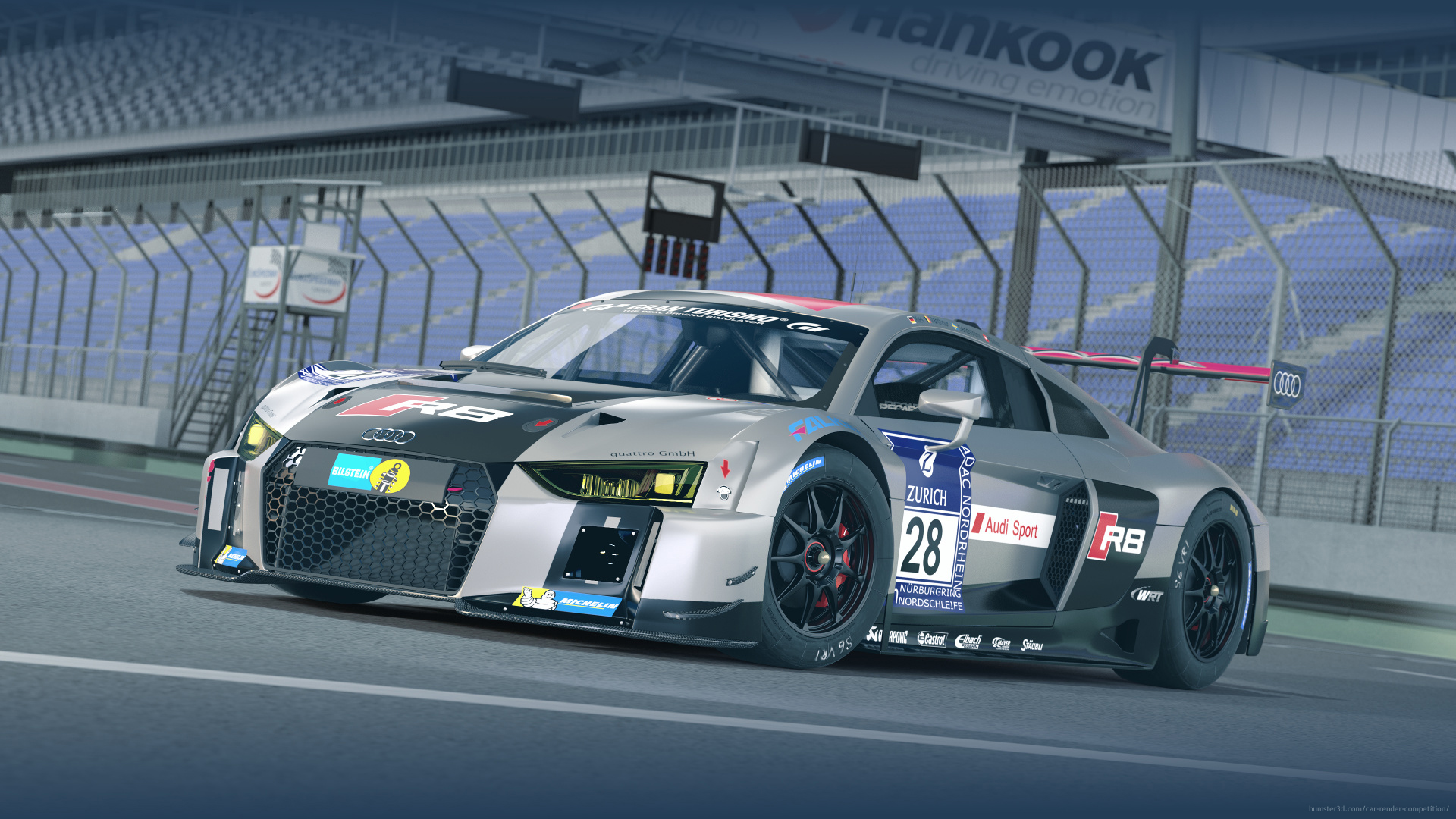 Audi R8 LMS - Champion 2015 24h Nürburgring