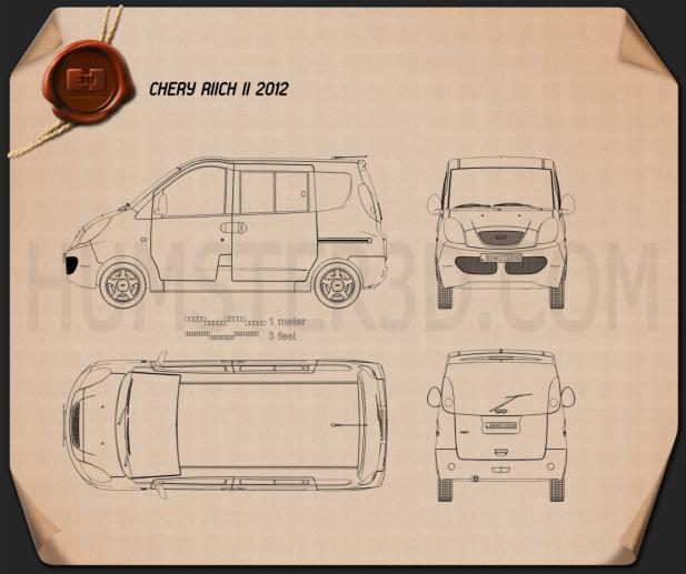 Chery Riich II (S22) 2012 Blueprint