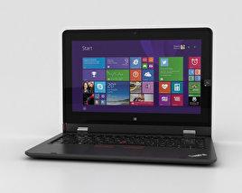 Lenovo ThinkPad Helix 2nd Gen 3D model