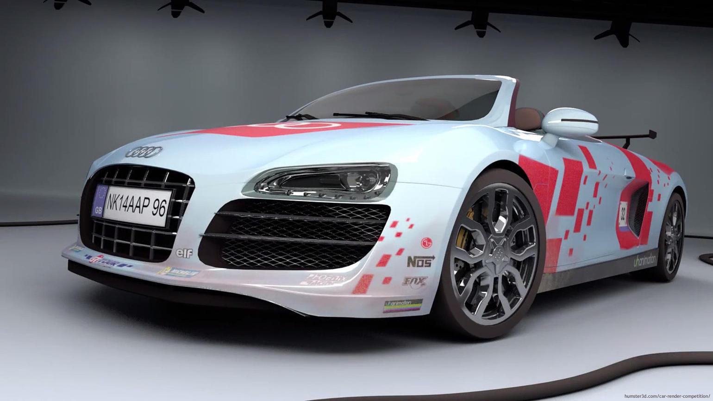 Audi R8 Spyder – Sport 3d art