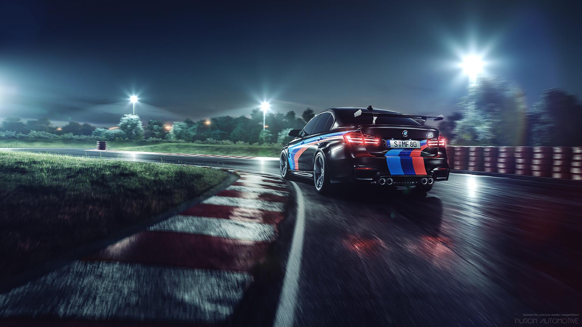 BMW M3 F80 (GTS replica) Full-CG Circuit 3d art