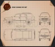 Dodge Durango 1997 Blueprint