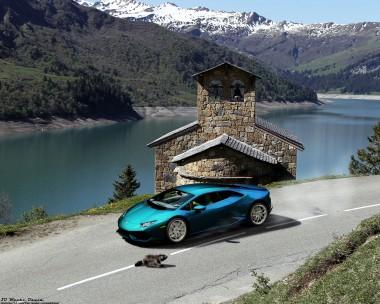 Enjoy the mountain roads