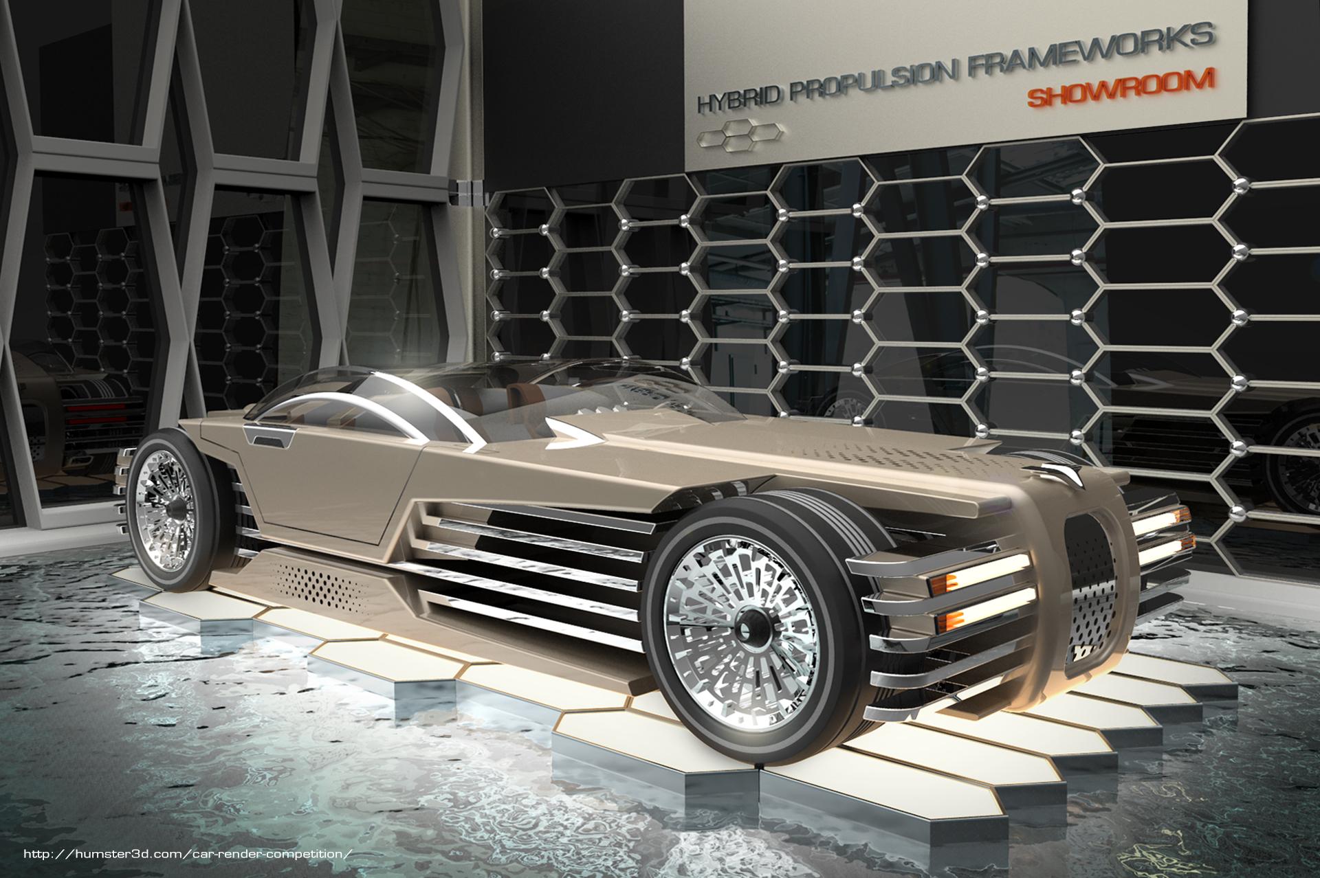 Hybrid Propulsion Frameworks 3d art