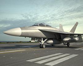 Boeing EA-18G Growler 3D model