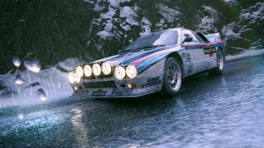 Lancia 037 by Marcos Tonda