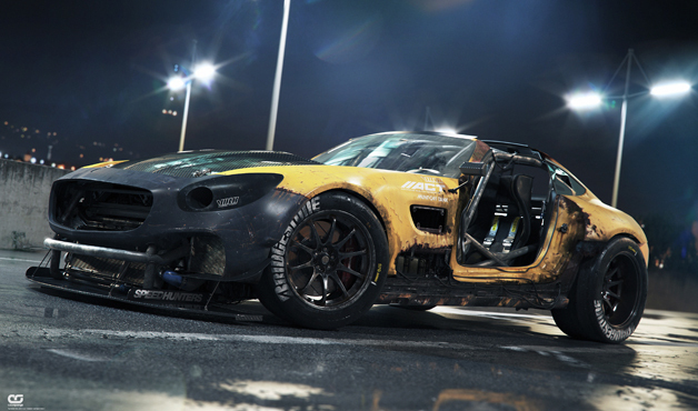 Mercedes AMG GT 2080 by Colorsponge