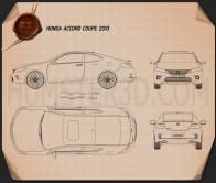 Honda Accord coupe 2013 Blueprint