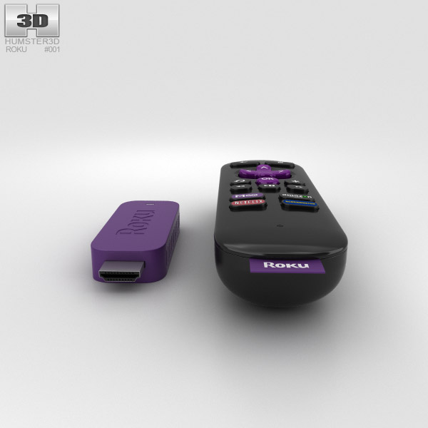 Roku Streaming Stick 3D model - Hum3D