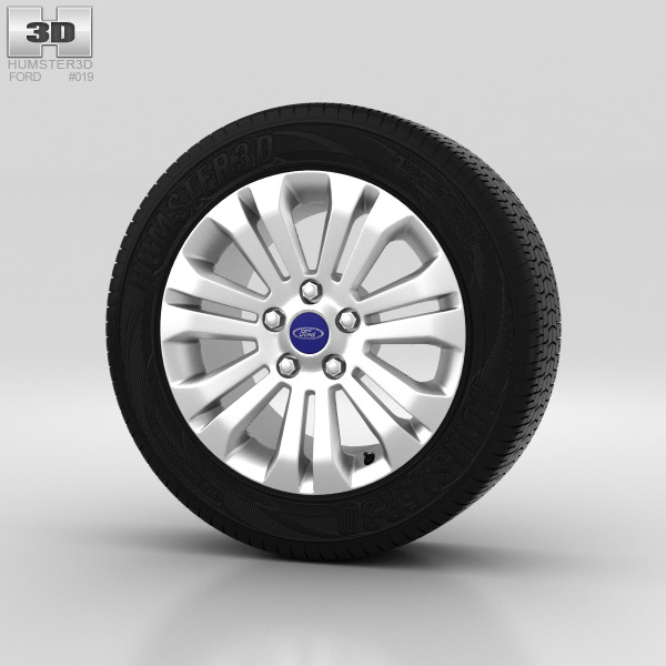 Ford Mondeo Wheel 16 inch 003 3d model