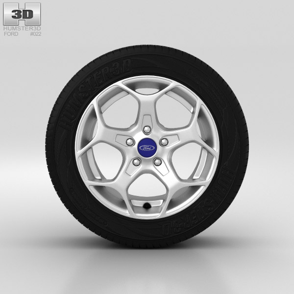Ford Mondeo Wheel 16 inch 006 3d model