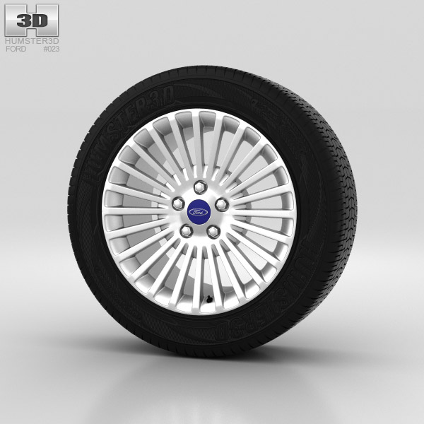 Ford Mondeo Wheel 16 inch 007 3d model