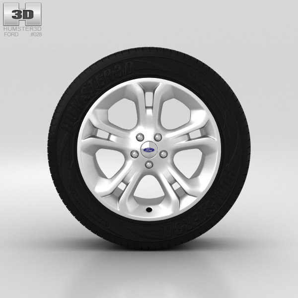 Ford Explorer Wheel 18 inch 001 3d model