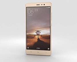 Xiaomi Redmi Note 3 Gold 3D model