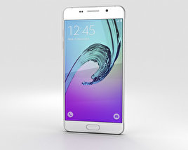 Samsung Galaxy A5 (2016) White 3D model
