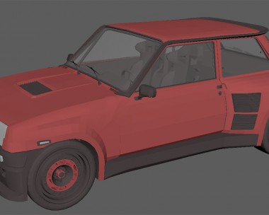 Modeling of R5 GT Turbo