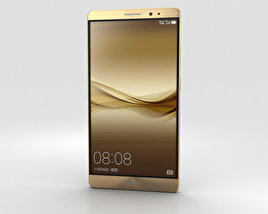 Huawei Mate 8 Champagne Gold 3D model