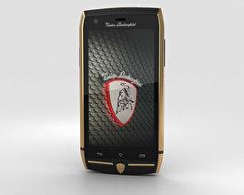 Tonino Lamborghini 88 Gold-Black 3D model