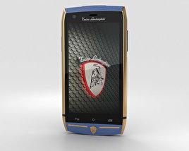 Tonino Lamborghini 88 Gold-Blue 3D model