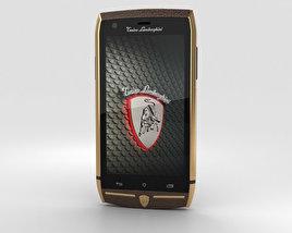 Tonino Lamborghini 88 Gold-Brown 3D model